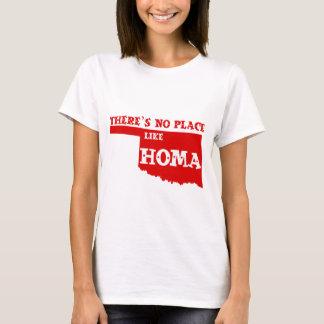 Es gibt keinen Platz wie Homa Oklahoma T-Shirt