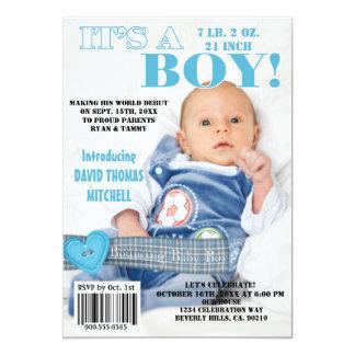 Es ist A, das Baby-Titelseiteaufprallt Karte