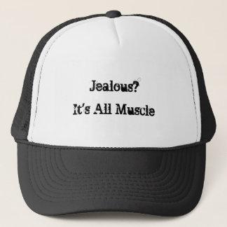 Es ist aller Muskel, eifersüchtig? Truckerkappe