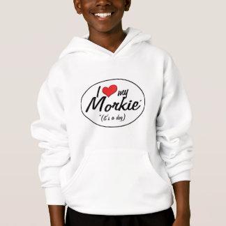 Es ist ein Hund! I Liebe mein Morkie Hoodie