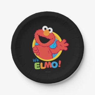 Es ist Elmo Pappteller 17,8 Cm