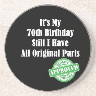 Es ist mein 70. Geburtstag Bierdeckel