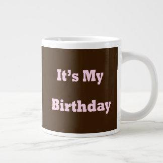 Es ist mein Geburtstag Jumbo-Tassen