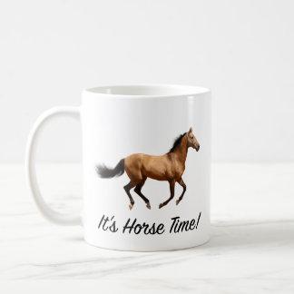 Es ist Pferdezeit Tasse