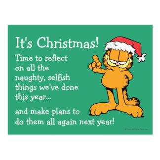 Es ist Weihnachten! Postkarte
