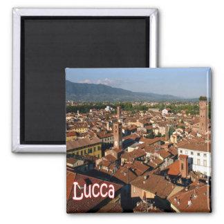 ES - Italien - Lucca Quadratischer Magnet