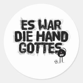es-Krieg sterben Handgottes