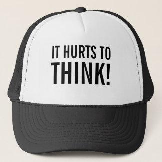 Es verletzt, um zu denken truckerkappe