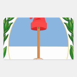 Escudode Argentinien - Wappen von Argentinien Rechteckiger Aufkleber