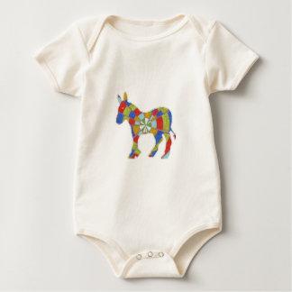 Esel-Felsen - amerikanische Wahl-Stimmen 2012 Baby Strampler