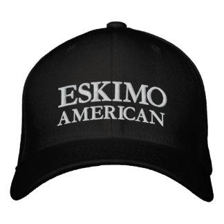 ESKIMO, AMERIKANISCH BESTICKTE KAPPE
