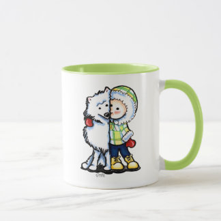 Eskimo küsst Winter Tasse
