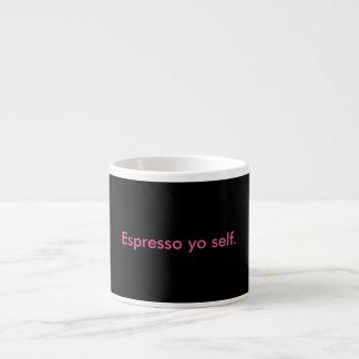 Espresso Yo Selbstschale Espressotasse