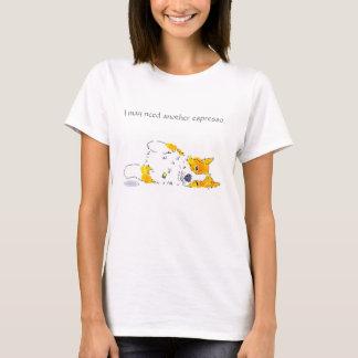 Espressocorgi-T-Stück T-Shirt