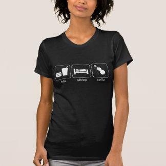 essen Sie Schlaf-Cello - Dunkelheit (Frauen) T-Shirt