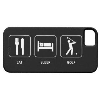 Essen Sie Schlaf-Golf Etui Fürs iPhone 5