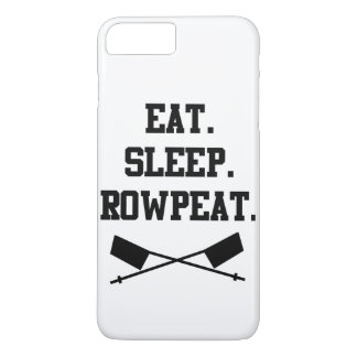 Essen Sie. Schlaf. Rowpeat iPhone 7 Plusfall iPhone 7 Plus Hülle