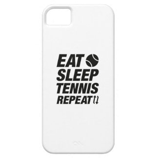 Essen Sie Schlaf-Tennis-Wiederholung Schutzhülle Fürs iPhone 5