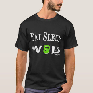 Essen Sie Schlaf WOD T-Shirt