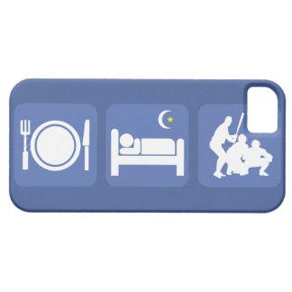 essen Sie Schlafbaseball Schutzhülle Fürs iPhone 5