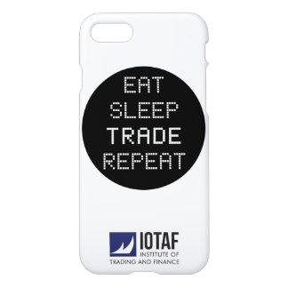 Essen Sie, schlafen Sie, handeln Sie, wiederholen iPhone 8/7 Hülle