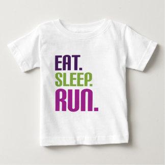 essen Sie Schlaflauft-shirts und -T-Shirts Baby T-shirt