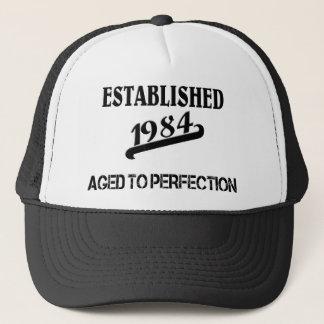 Established 1984 truckerkappe