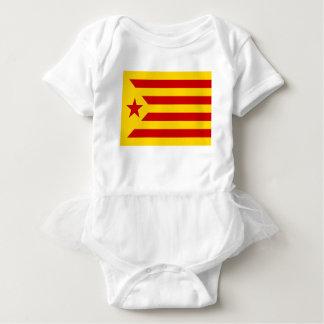 Estelada Roja - Bandera independentista Catalana Baby Strampler