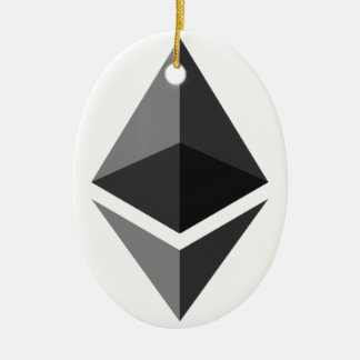 Ethereum - Cryptocurrency Super-PAC Keramik Ornament