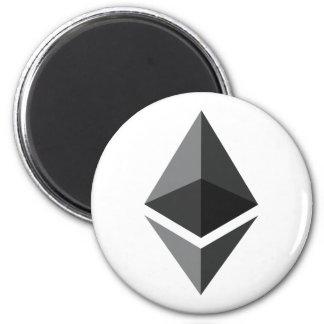 Ethereum Magnet Runder Magnet 5,1 Cm
