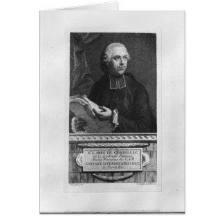 Etienne Bonnot de Condillac Karte