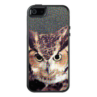 Eule (b) - Telefonkasten OtterBox iPhone 5/5s/SE Hülle