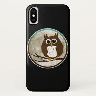 Eule iPhone X Hülle