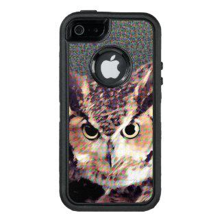 Eule - Telefonkasten OtterBox iPhone 5/5s/SE Hülle