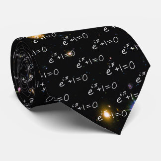 Eulers Identität Hubble tiefe Feld-Galaxien Bedruckte Krawatten
