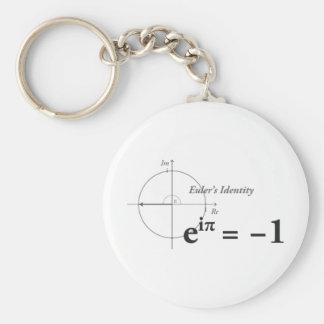 Eulers Identitäts-Mathe-Formel Schlüsselanhänger