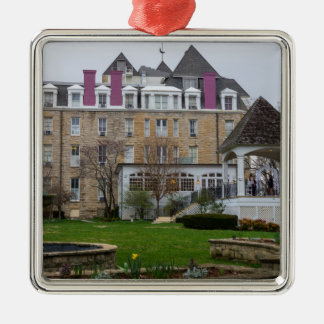 Eureka-Halbmond Silbernes Ornament