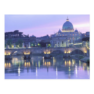 Europa, Italien, Rom, Vatikan. St Peter u. Postkarte