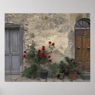 Europa, Italien, Toskana, Chianti, toskanischer Ei Poster