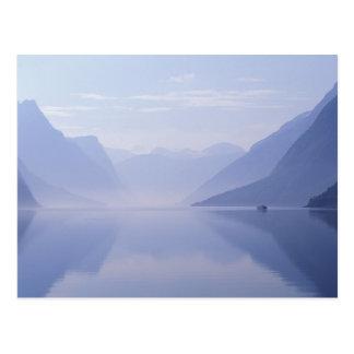 Europa, Norwegen. Vertikale Wände herein Postkarten