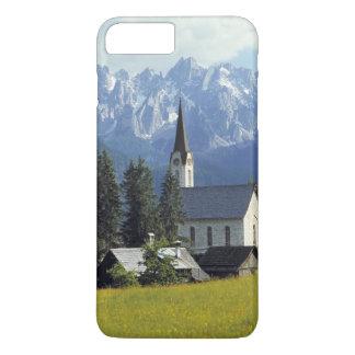 Europa, Österreich, Gosau. Der Helm der Kirche iPhone 8 Plus/7 Plus Hülle