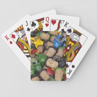 Europa, Portugal. Historische Stadt von Sintra. 2 Spielkarten