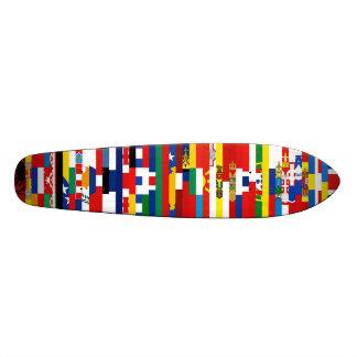 Europäer kennzeichnet Skateboard Personalisierte Decks