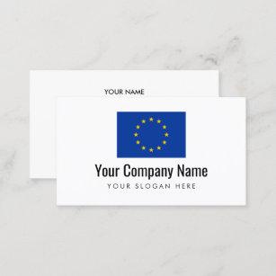 Europäische Visitenkarte