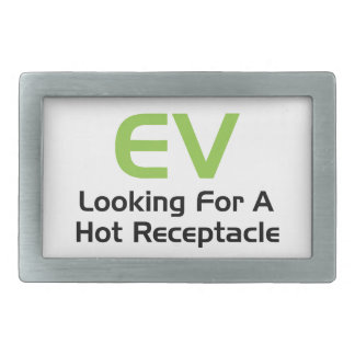 EV, das nach einem heißen Behälter sucht Rechteckige Gürtelschnallen