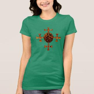 Evangelisch-Gesprenkelt T-Shirt