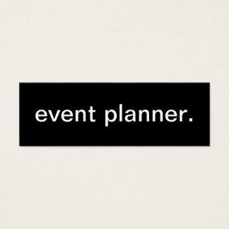 Event-Planer-Visitenkarte Mini Visitenkarte
