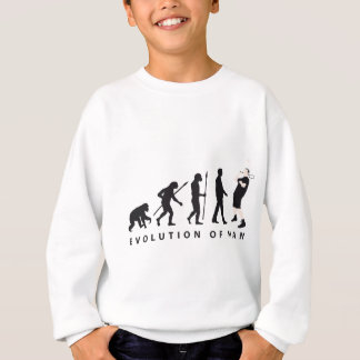 evolution badminton sweatshirt