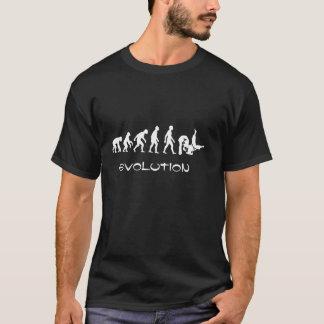 Evolution der Judo-Dunkelheit T-Shirt