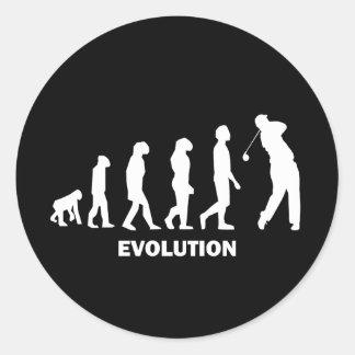 Evolution des Golfs Stickers